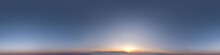 Dark Blue Sky Before Sunset Wi...