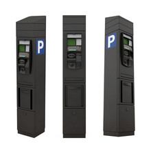 Parking Meter Isolated