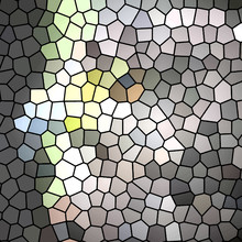 Unique Colorful Stained Glass Effect