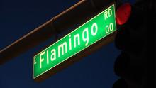Flamingo Road Street Sign At L...