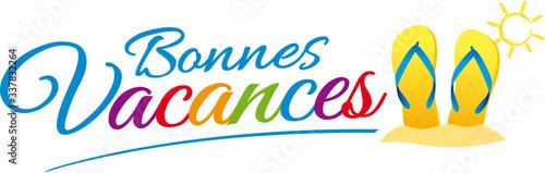 Photo BONNES VACANCES V5