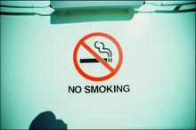 No Smoking Sigh On White Wall