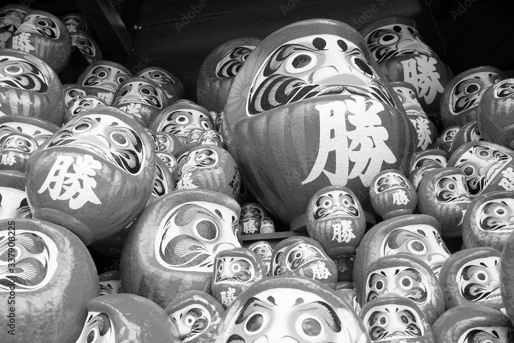 Fototapeta 勝尾寺のダルマ