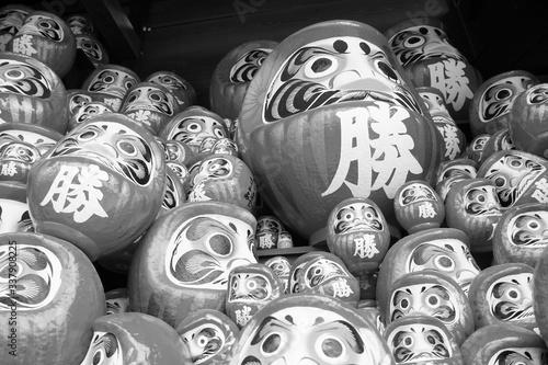 Obraz 勝尾寺のダルマ - fototapety do salonu