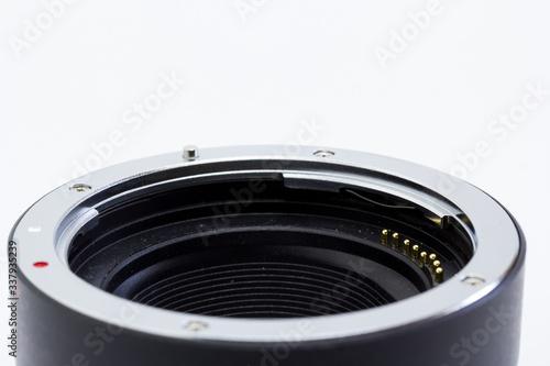 Photographie Adaptador de objetivos para mejorar la compatibilidad entre objetivos y cámaras