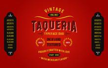 Vintage Textured Typeface Duo ...