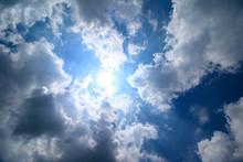 青空と雲の素材