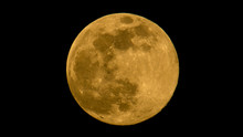 The Super Yellow Moon