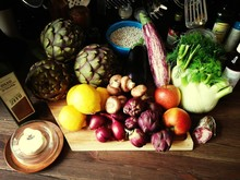 Assorted Vegetables At Kitchen