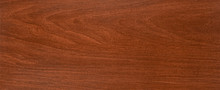 Mahogany Wood Parquet Textured Copy Space Frame Background