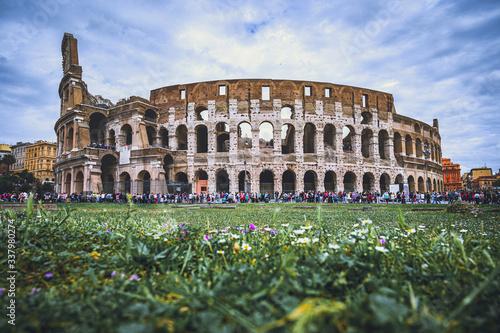 Vászonkép Colosseum Rome; Flavian Amphitheatre