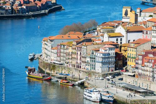 Fototapeta Bridge of Luis I over Douro river in Porto, Portugal obraz na płótnie