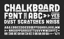 Hand-drawn Alphabet And Font. ...