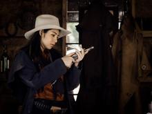 Western Girl Cowgirl Prepares ...