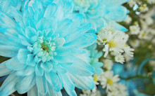 Abstract Photo Of Light Blue C...