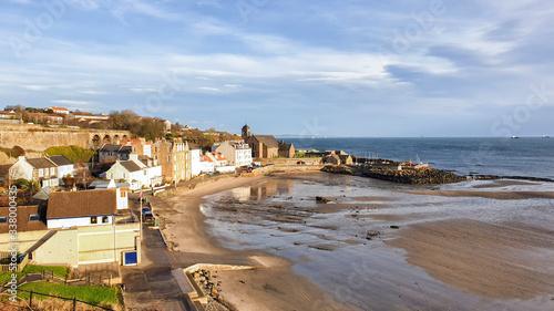 Fotografie, Obraz Fife Coastal Path from Burntisland to Kirkcaldy - Scotland - UK
