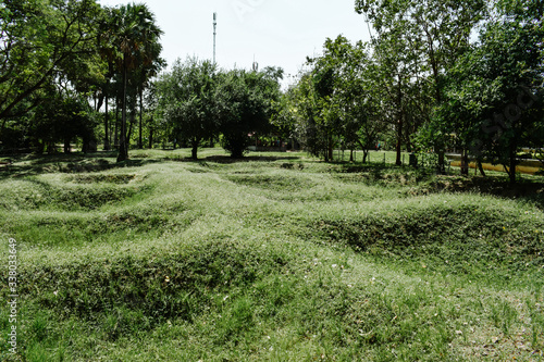 Fotografía Mass graves of Khmer Rouge victims in the Cambodia Killing Fields Choeung Ek Gen