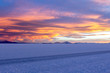 Uyuni salt marsh in Bolivia beautiful views sunsets and sunrises