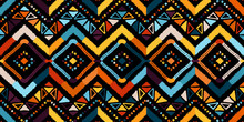 Abstract Zigzag Pattern For A Cover Design