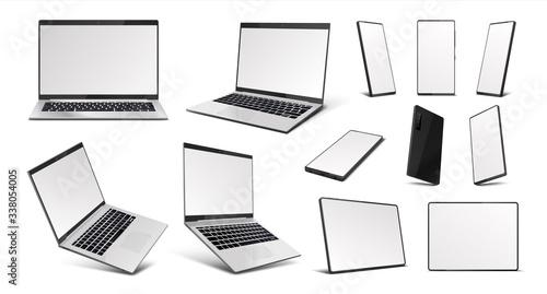 Fotografía Realistic gadgets