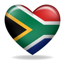 Heart Shape Of South Africa Insignia