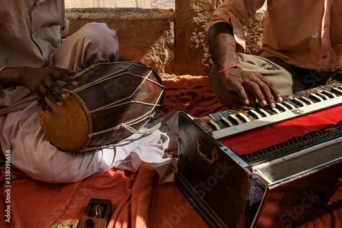 Fotografie, Obraz Rajasthan, Indian musical instruments