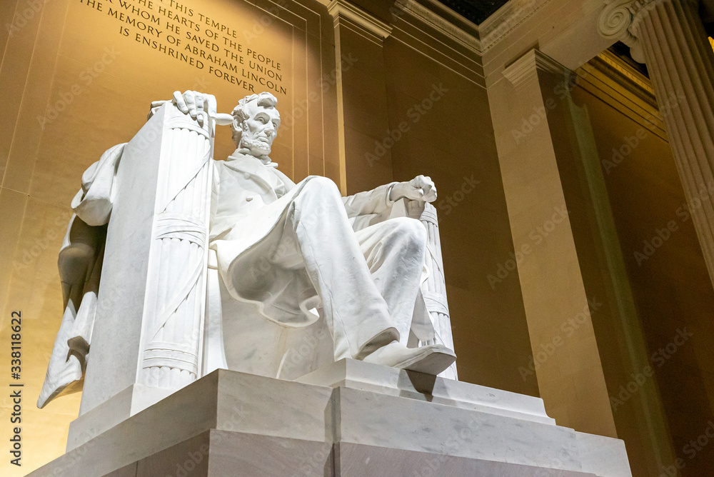 Fototapeta Lincoln Memorial statue