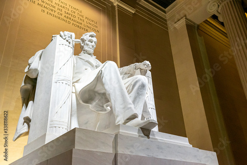 Obraz na plátne Lincoln Memorial statue