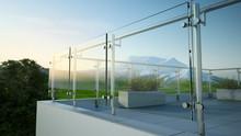 Modern Stainless Steel Railing...