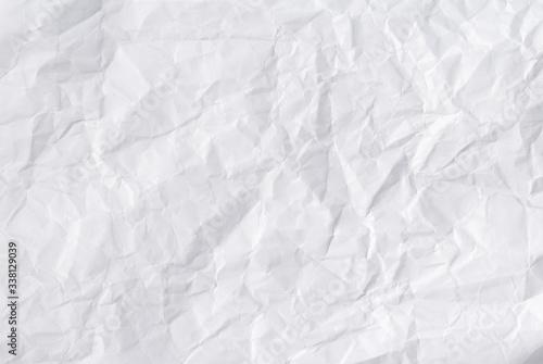 Obraz na plátně Full Frame Shot Of Crumpled Paper