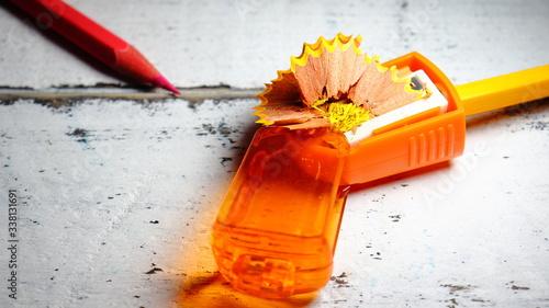 Photo Sacapuntas con lapices de colores