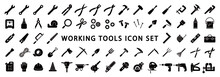 Big Set Of Working Tools Icon ...