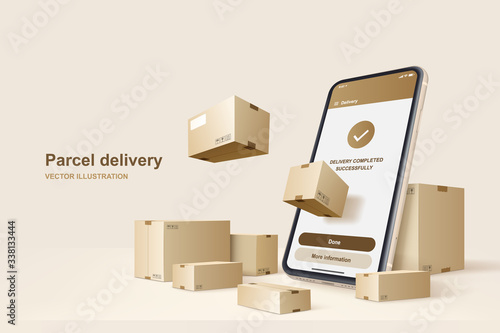 Foto Parcel delivery