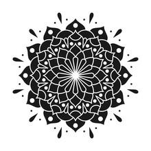 Mandala Vector Logo Icon Illustration