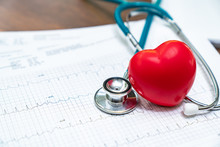 Close-up Of Heart Shape And St...