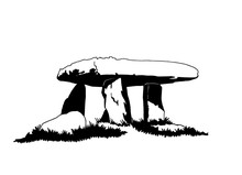 Graphical Sketch Of Dolmen Iso...