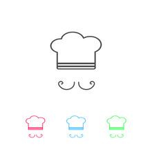 Chef Icon Flat.