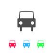 Car icon flat.