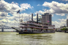 Mississipi River Steamboat In ...