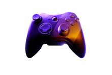 Video Game Controller, 3d Rendering, Gray Background, Xbox Controller, White Background, Isolated Game Controller