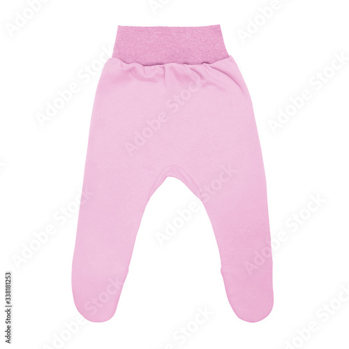 pink baby footed pants Canvas-taulu