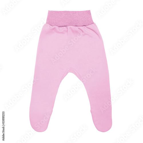 Vászonkép pink baby footed pants