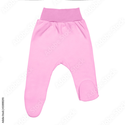 Canvas-taulu pink baby footed pants
