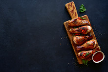 Roasted Chicken Legs With Ketc...