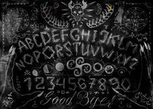 Ouija Magic Spiritual Board De...