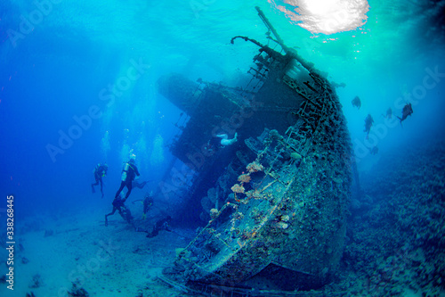 Canvas Print shipwreck
