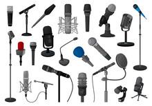Microphone Vector Illustration...