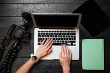 Video Blogger Using Digital Ca...