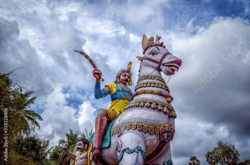 Tablou Canvas Local deity workshiped as hindu gods & goddess