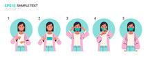How To Wear Medical Face Mask ...
